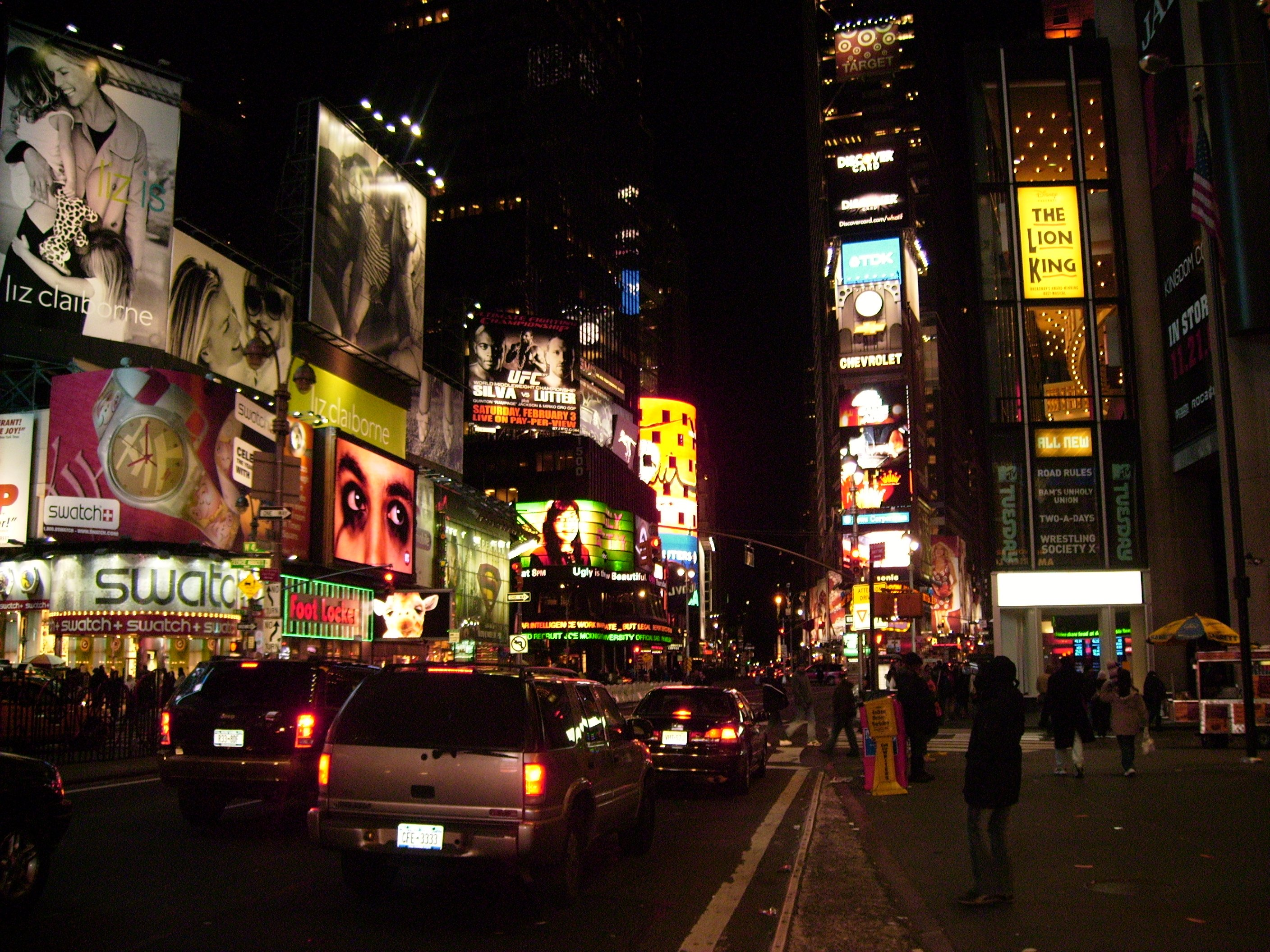 Time Square my love