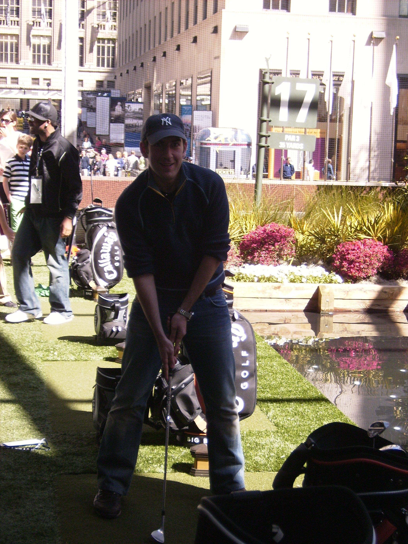 Du golf à New York.....ça c'est ce que j'appelle du luxe